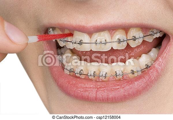 oral hygiene - csp12158004