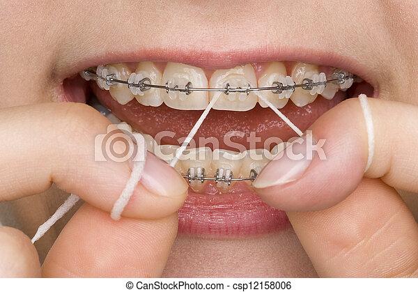 oral hygiene - csp12158006