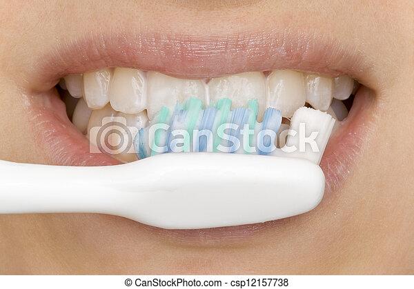 oral hygiene - csp12157738