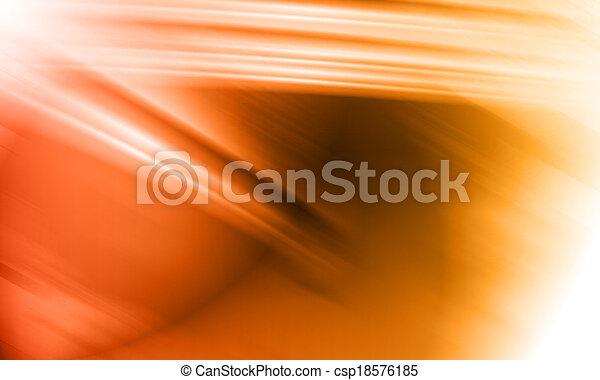 orange abstract background - csp18576185