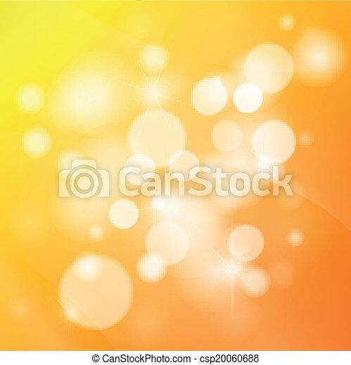 Orange abstract background - csp20060688