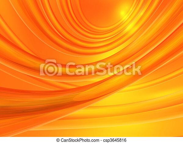 Orange abstract background - csp3645816