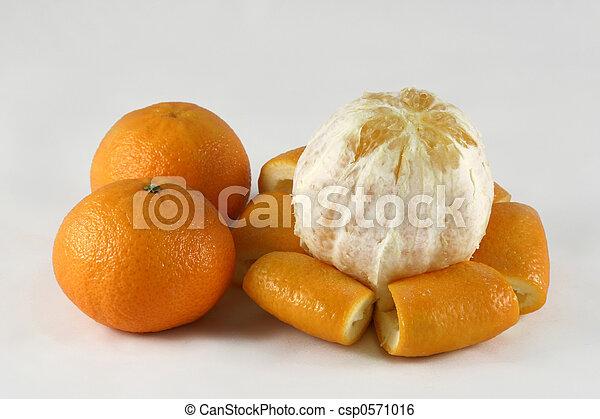 Orange and tangerine - csp0571016