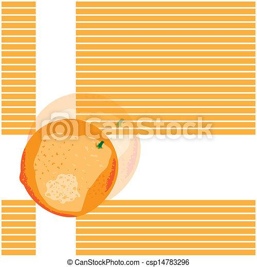 Orange background - csp14783296