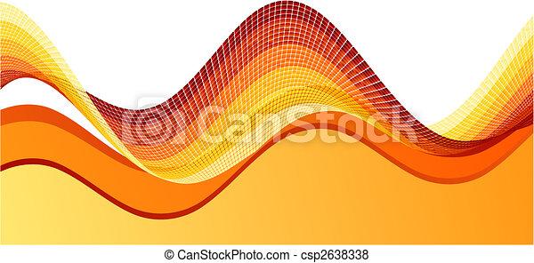 Orange background - csp2638338