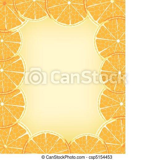 Orange background - csp5154453