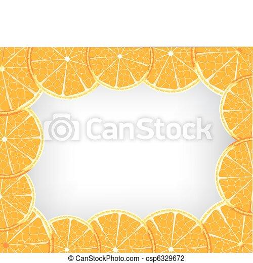 Orange background - csp6329672