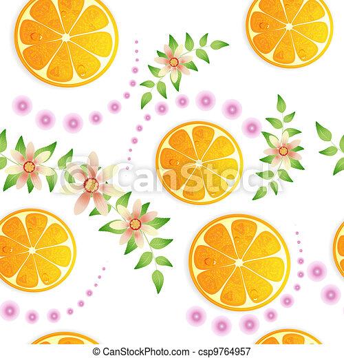 Orange background - csp9764957