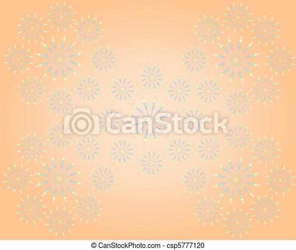 Orange background - csp5777120