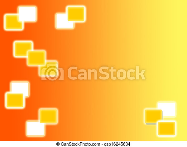 Orange background with copy space - csp16245634