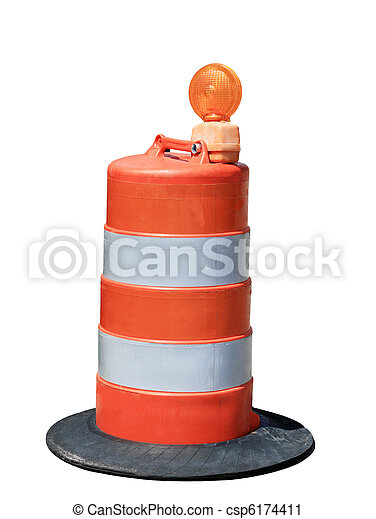 Orange Barrel - csp6174411