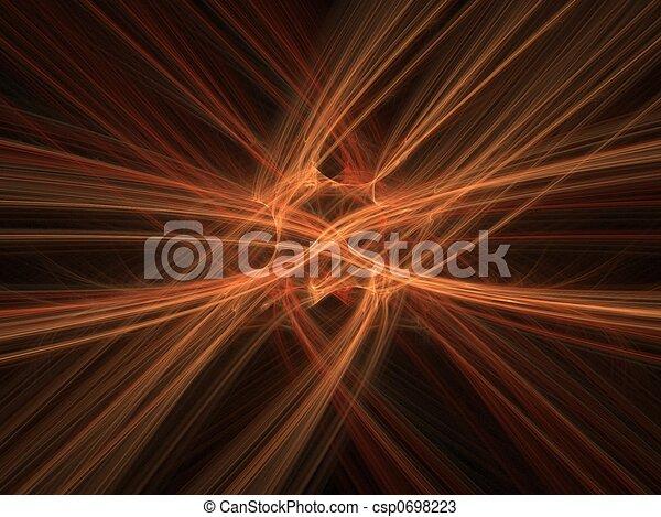 orange, bewegung, hintergrund, verwischen - csp0698223
