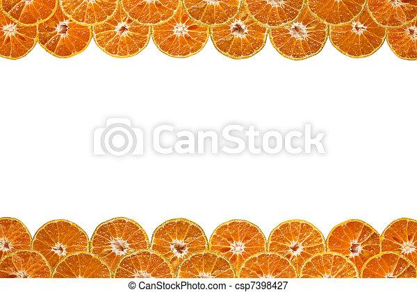 Orange border - csp7398427