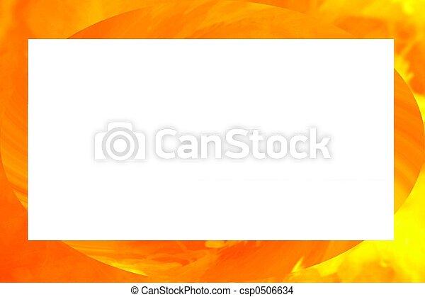 orange border - csp0506634
