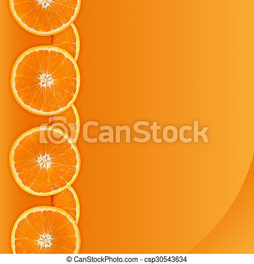 Orange border - csp30543634