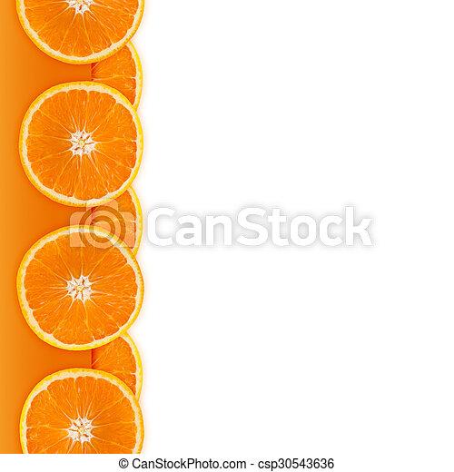 Orange border - csp30543636