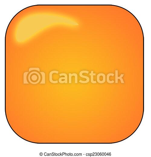Orange button - csp23060046