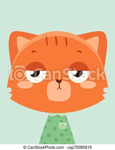 orange, cat., mignon - csp70085818