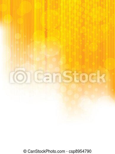 orange, clair, fond - csp8954790