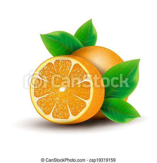 Orange - csp19319159