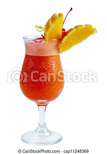 orange, closeup, cocktail - csp11248369