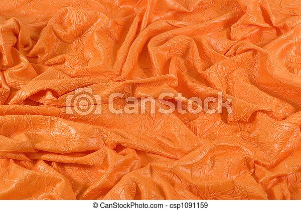 Orange Cloth Background - csp1091159
