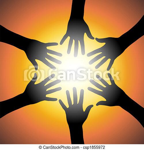 orange, collaboration - csp1855972