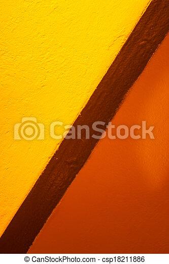 orange, couleurs, jaune