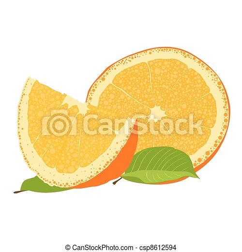 Orange - csp8612594