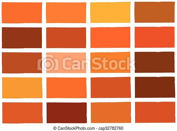 Orange Farbe Ton Schatten Hintergrund Ton Schatten Farbe