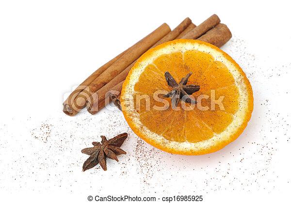 orange for celebrations - csp16985925