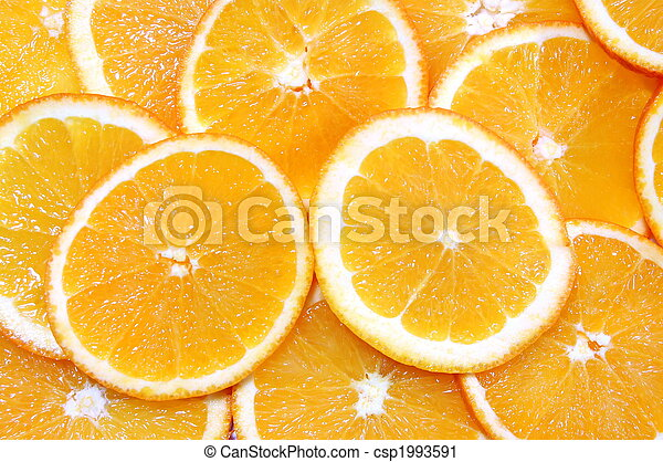 orange fruit background - csp1993591