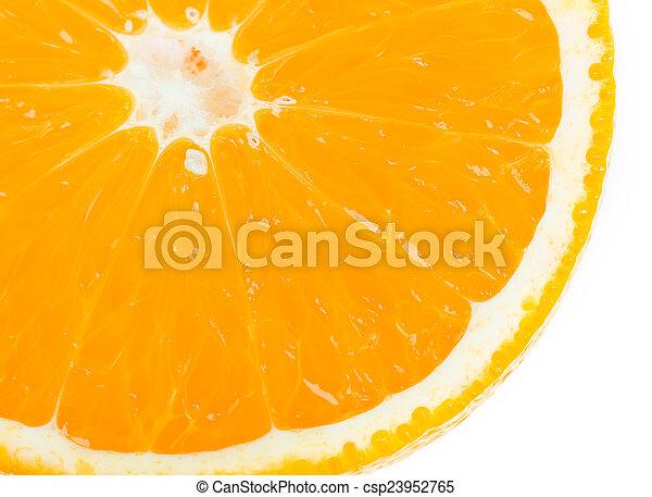 Orange fruit background - csp23952765