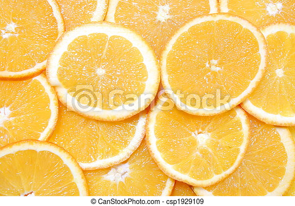 orange fruit background - csp1929109