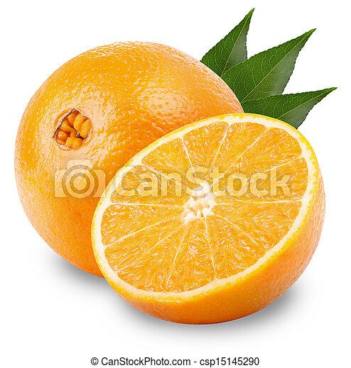 Orange fruit  - csp15145290