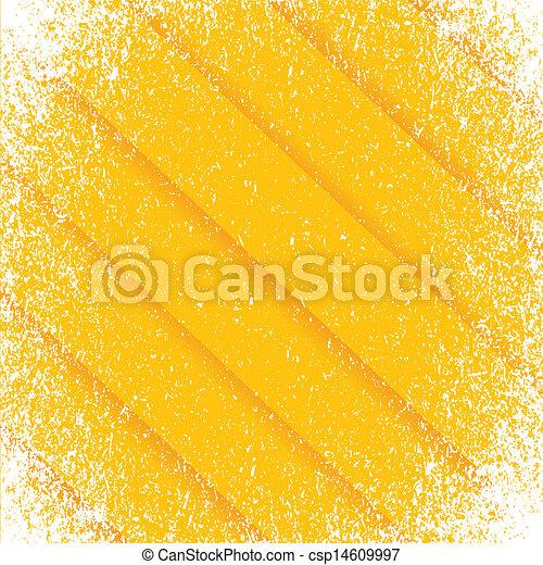 orange Grunge pattern frame lines background - csp14609997