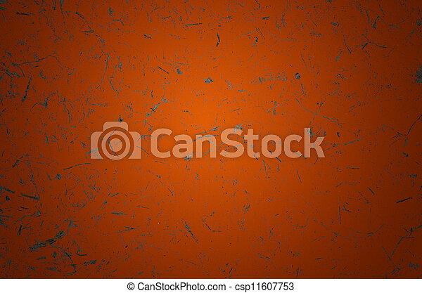 Orange Grunge Scratch Background