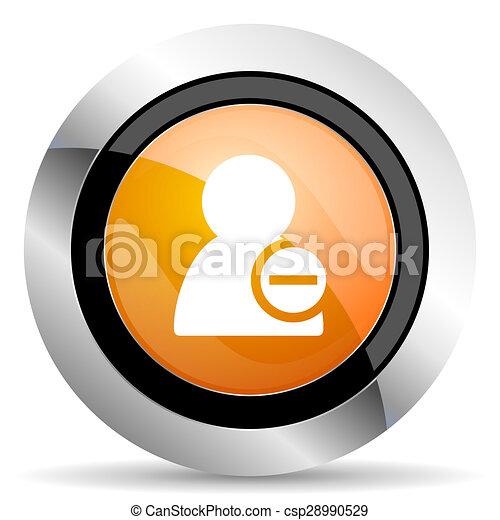 orange icon - csp28990529