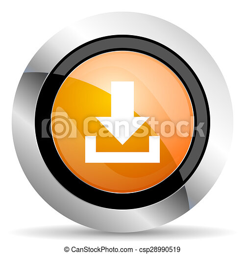 orange icon - csp28990519