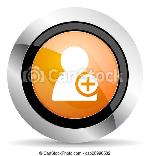 orange icon - csp28990532