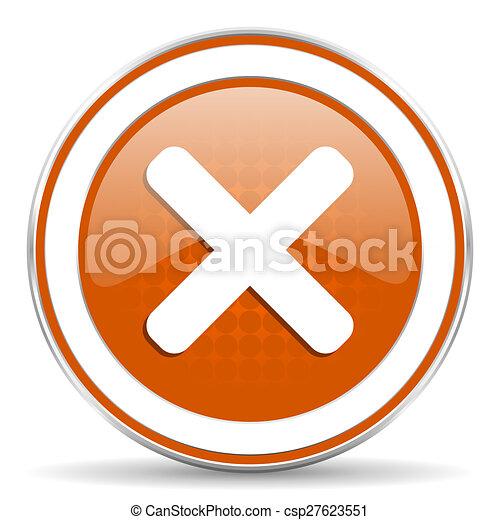 orange icon - csp27623551
