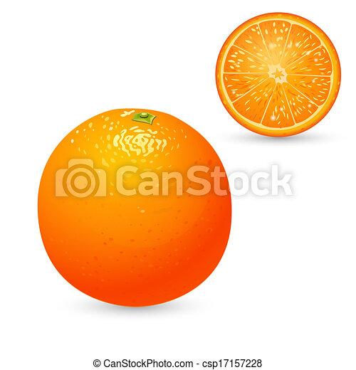 Orange - csp17157228