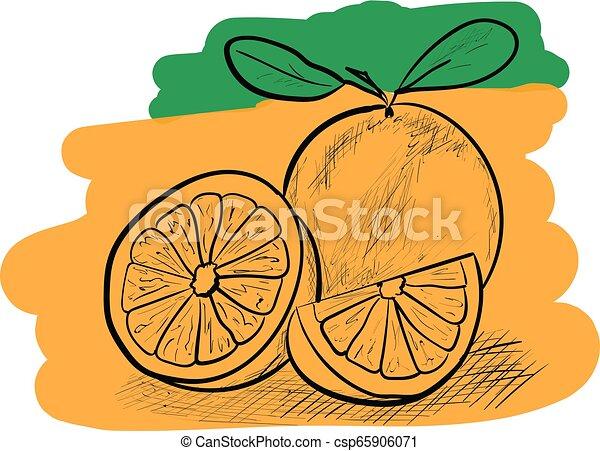 orange - csp65906071