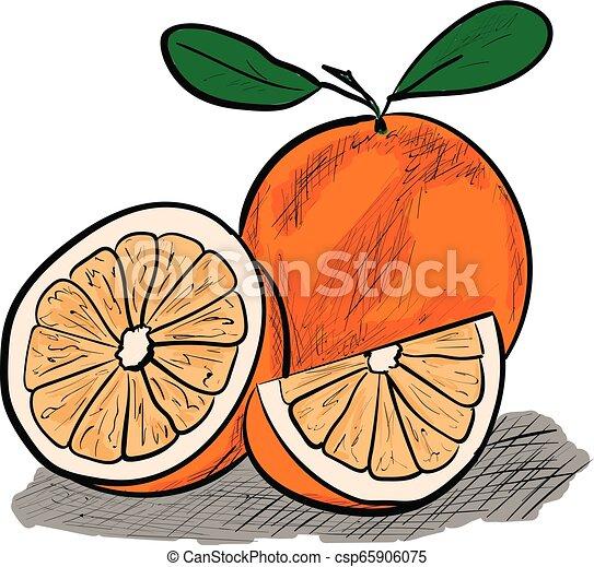 orange - csp65906075