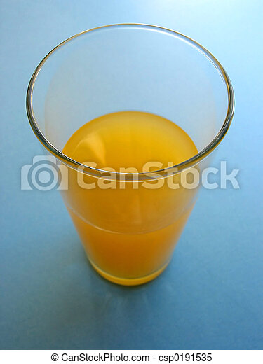 Orange juice in a glass - csp0191535