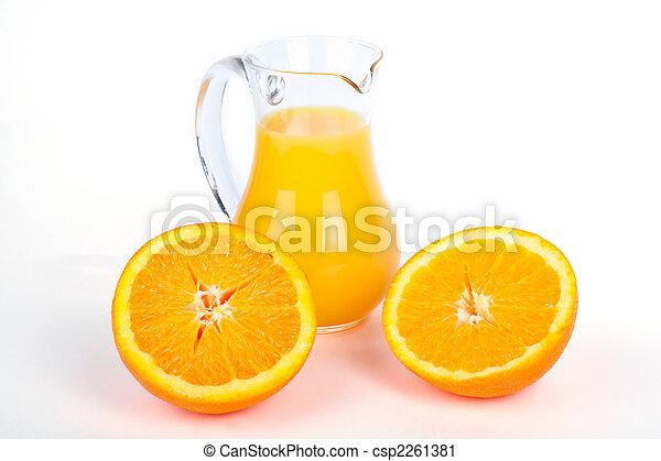Orange juice - csp2261381
