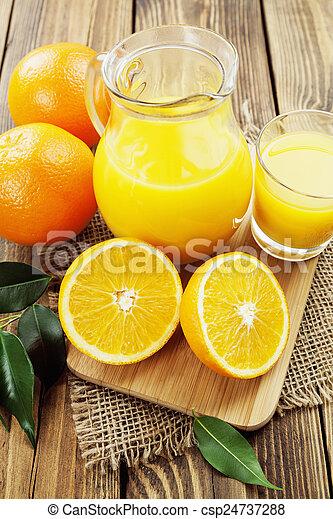 Orange juice - csp24737288