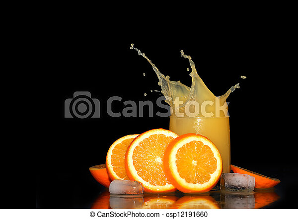 Orange Juice - csp12191660