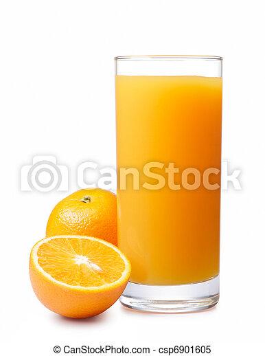 orange juice - csp6901605