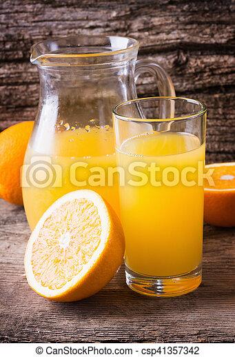 Orange juice - csp41357342